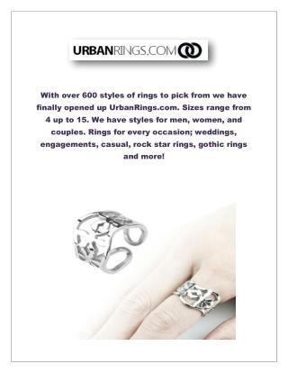 Cheap Flower Rings