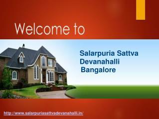 Salarpuria Sattva Devanahalli