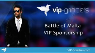Battle of Malta VIP Sponsorship | Rake Races | Professional Online Poker