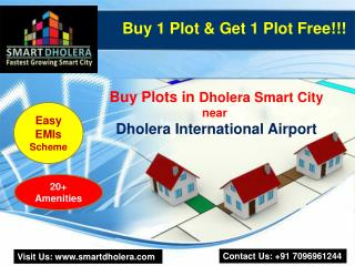 Plots near Dholera International Airport
