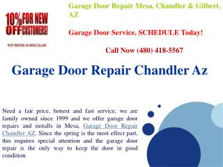 Garage Door Repair Chandler AZ  Fast Services