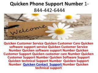 QuickBooks file to Quicken windows  1-844-442-6444