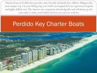 Perdido Key Charter Boats