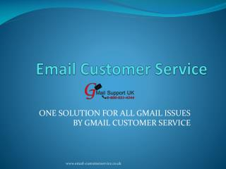 Gmail customer support Services