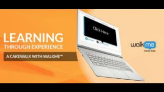 Learning Through Experience: A Cakewalk with WalkMe