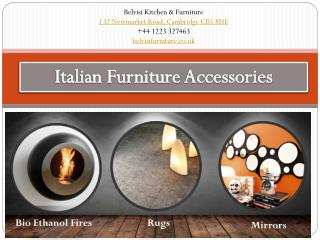 Italian Furniture Accessories