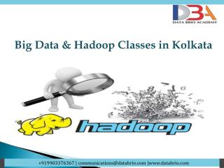 Big Data & Hadoop Classes in Kolkata