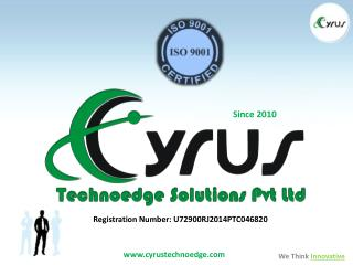 Cyrus Technoedge Solutions Pvt. Ltd.
