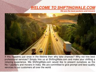 Home Shifting Services in Ghaziabad