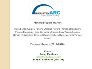Flavored Yogurt Market