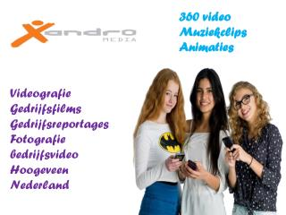 360 video - Muziekclips - animaties - Xandro Media