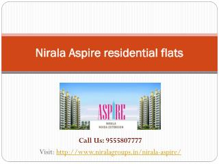 Book your dream home Nirala Aspire