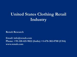 United States Retail Industry