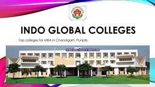 Top Architecture college in Punjab