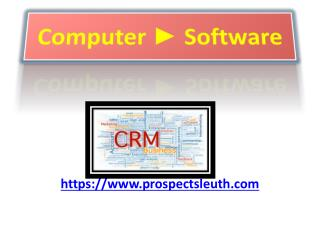 CRM Software Solutions