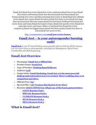 Email Jeet Review & GIANT Bonus