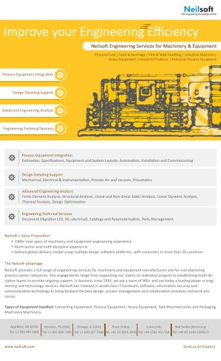 Neilsoft Machinery & Equipment Design Services