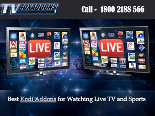 Best Kodi Addons for Watching Live TV and Sports