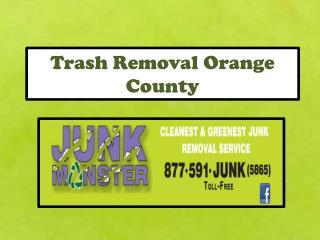 Trash Removal Orange County