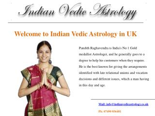 Welcome to Indian Vedic Astrology in UK