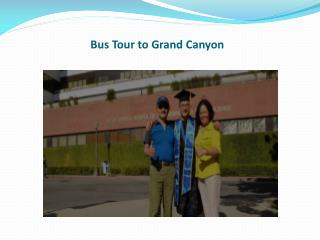 Bus Tour to Grand Canyon