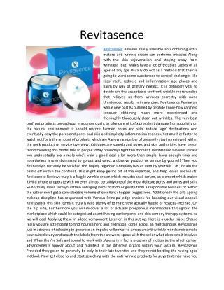 http://www.thecrazymass.com/revitasence/
