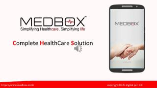 MEDBOX™ - Healthcare Mobile Application
