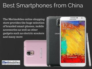 Best Chinese Mobile Phones