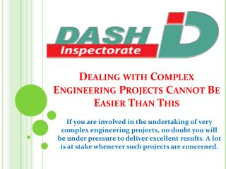 Dealing with Complex Engineering Projects Cannot Be Easier Than This