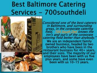 Restaurants In Linthicum Md - 700southdeli