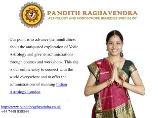 Welcome to Pandith Raghavendra in London
