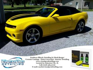 Expert in Ceramic Coatings at Visual Pro Detailing by Mark Barger.
