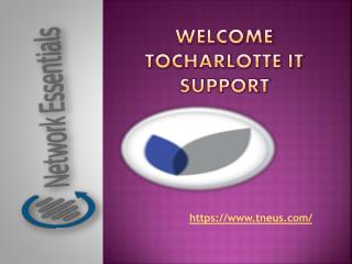 network support charlotte