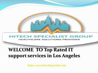 Los Angeles IT services