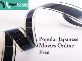 Popular Japanese Movies Online Free