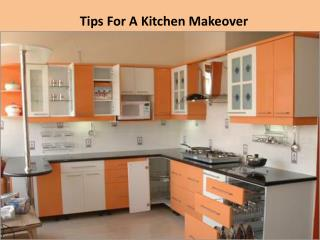 Tips For A Kitchen Makeover