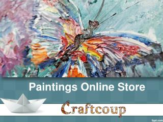 Buy paintings online India, paintings online store, paintings online shopping, Paintings in Hyderabad � CraftCoup.com