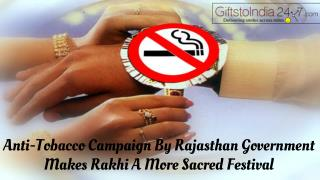 Anti-tobacco campaign by Rajasthan government makes Rakhi a more sacred festival