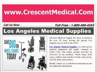 Los Angeles Medical Supplies - Online Healthcare services
