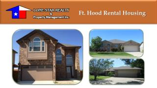 Ft. Hood Rental Housing