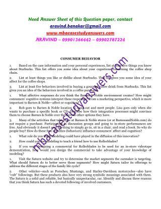 CONSUMER BEHAVIOR. ARAVIND 9901366442.pdf