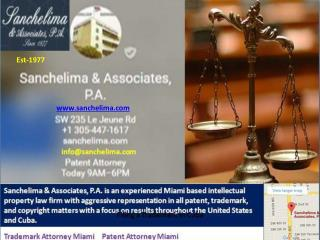 Specialization in Patents Trademarks & Copyrights