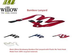 Bamboo lanyards