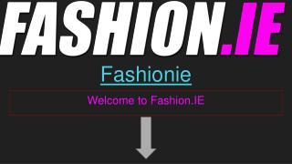 Online fashion, Fashion