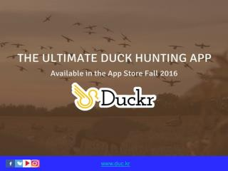 Duck Hunting App