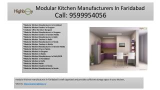 About Modular Kitchen Manufacturers In Faridabad, Modular Kitchen Dealers In Noida, Modular Kitchen Noida