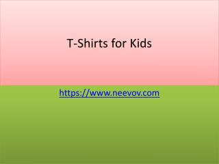 Kids Graphic Chocolate Colour T Shirts