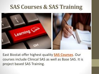 SAS Courses & SAS Classes