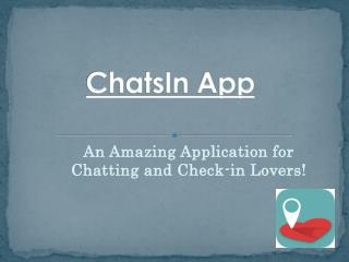 Free Android Chat Apps  – ChatsIn