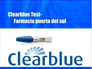 Clearblue Test- Farmacia puerta del sol
